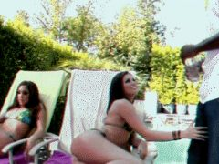 Threesome Undress Discover Porn Gif
