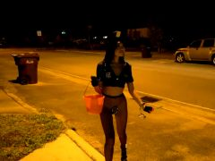 Vina Sky – Vina Sky Trick Or Treats For Dick On Halloween!