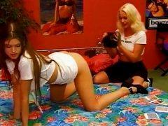 YLL danish girls making polaroids
