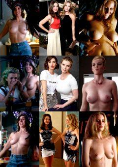Alison Brie, Julianna Guill, Betty Gilpin & Gillian Jacobs