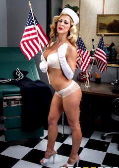America's Secret Sweetheartcherie Devillebig Tits In Uniform