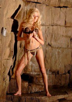 Ann Poll – Bkini-clad Blonde Beauty