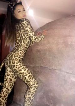 Ariana Grande Jaguar Costume