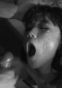 Asian Girl Drenched In Hot Cum