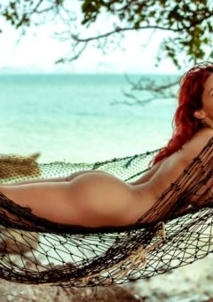 Bianca Beauchamp – More Of A Busty Redheaded Beach Babe – Set Seven