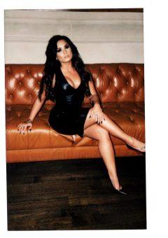 Black Dress Photoshoot – Demi Lovato