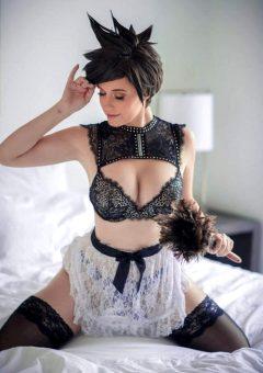 Boudoir French Maid By Meg Turney