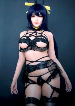 Boudoir Himejima Akeno By Hana Bunny