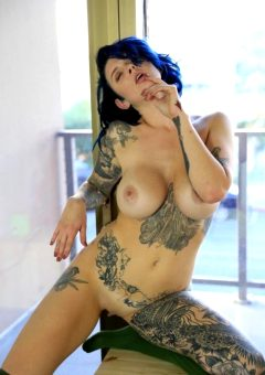 Calla Has Some Awesome Ink!