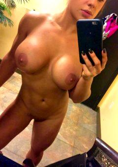 Celeste Bonin Showing Off Her Nude Body