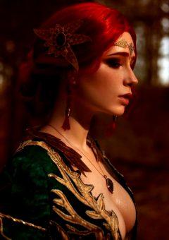 Christina Volkova As Triss Merigold, The Witcher