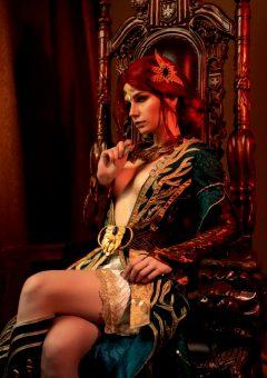 Christina Volkova As Triss Merigold