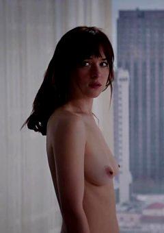 Dakota Johnson Naked In Fifty Shades Of Grey