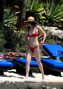 Dakota Johnson – Wearing A Bikini In Miami