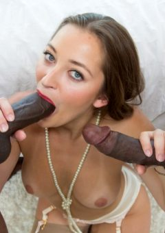 Dani Daniels – Dani Daniels vs Two Huge BBC