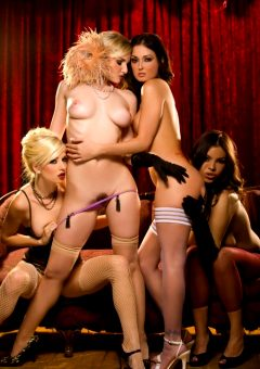 Danielle And Liz And Melissa And Yurizan – Lipstick Thesbians