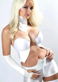 Dayna Baby Lou As Emma Frost From Marvel Comics