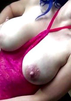 Dirty Talking Tit Slapping Lesbian Toy Solo POV