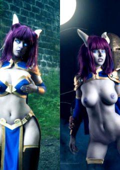 Disharmonica As Monara From World Of Warcraft NSFW