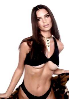 Emily Ratajkowski Underboob Dancing
