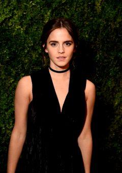 Emma Watson At Museum Of Modern Art