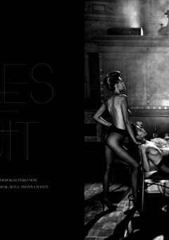 Filles De Nuittreats Magazine Photo Steven