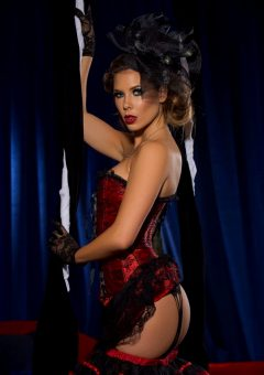 Gia Ramey-gay In A Moulin Rouge Inspired Set – Set One