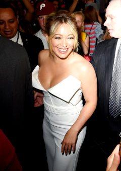 Hilary Duff – Leaving NBC Studios