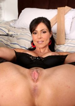 Hot Milf Nurse Kendra Lust In Black Lingerie