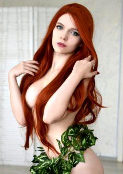 Irina Sabetskaya As Poison Ivy