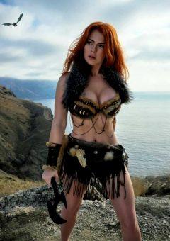 Irine Meier As ElderScrolls Viking/Barbarian