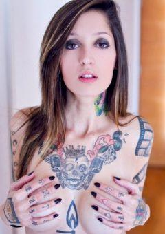 Jacqueline Suicide Inked Girl