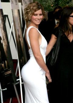 Jessica Biel's Actual Ass, Not Photoshopped