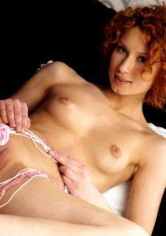 Juline A – Curly Redhead