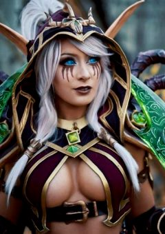 Kate Sarkissian As Vileblade Valeera