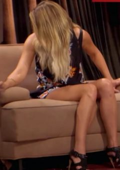 Lauren Conrad Leggy On The Eric Andre Show