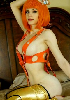 Leeloo From The Fifth Element By Amouranth