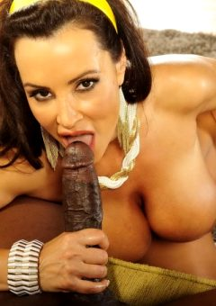 Lisa Ann Milf Blows Big Black Cock
