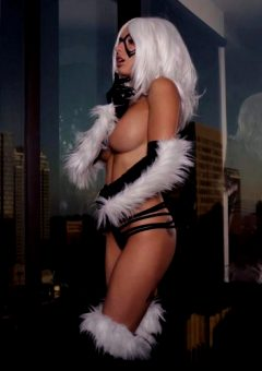 Liz Katz As Black Cat
