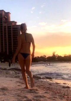 Milf Fergie In A Bikini