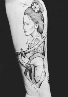 My Geisha Tattoo