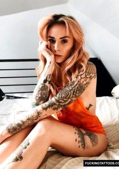 Orange You Glad She's In Bed