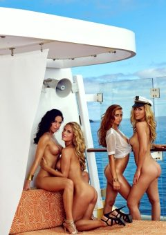 Playmates Of The Year 2015 Germany 3 Jessica Ashleylaura Kaisersissi Fahrenschonnicole