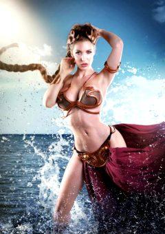 Princess Leia By Kristen Hughey