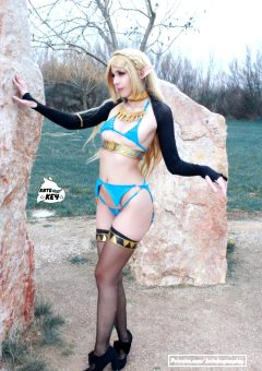 Princess Zelda From Botw – By Kate Key