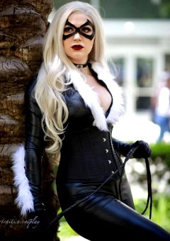 Princess_frakenstein As Blackcat