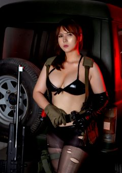 Quiet Cosplay By UyUy