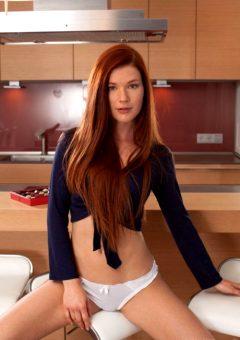 Redhead by Mia Solliss