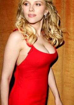 Scarlett Johansson In The Dress That Launched A Thousand Erections.