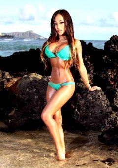 Sexy Beach Babe Cj Miles